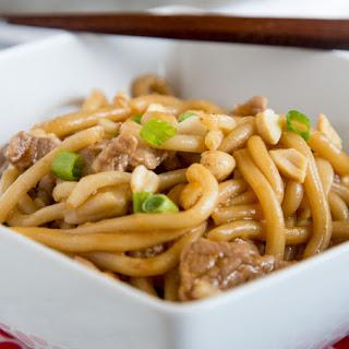 Asian Noodle Bowls with Pork.