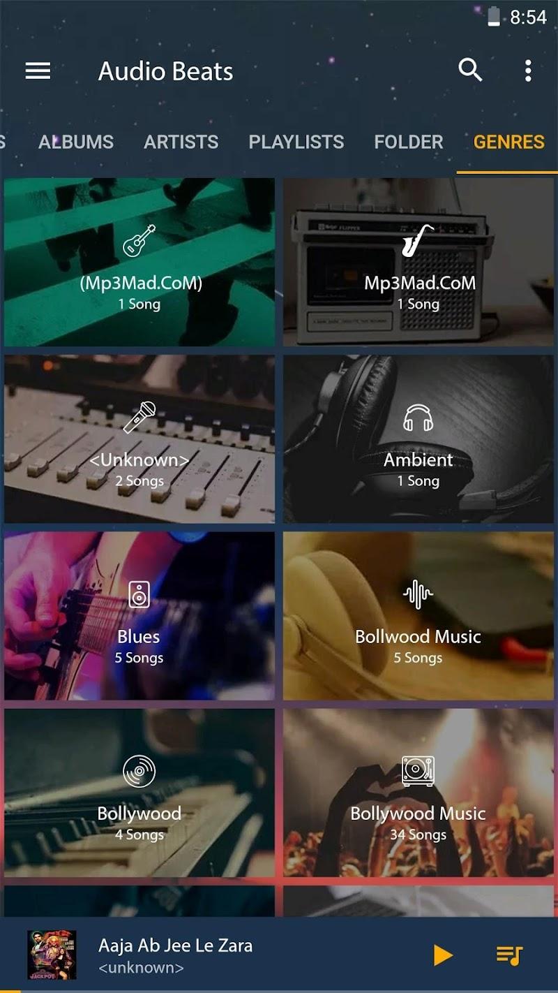 Audio Beats - Mp3 Music Player, Free Music Player Screenshot 5