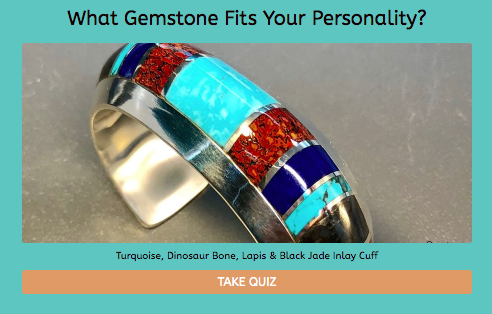 which gemstone fits personality quiz cover