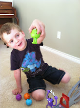 Photo: Mike is my boy's favorite rolling racer.