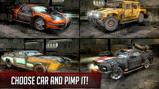 Death Race ® - Shooter Game in Racing Cars Screenshot