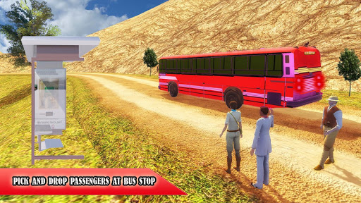 Mountain Bus Driving Off Road : 3D Bus Simulator game (apk) free download for Android/PC/Windows screenshot