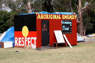 Photo: Year 2 Day 227 - Opposite the Old Parliament House is the Tent Embassy