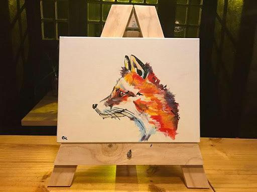 Paint Night : Blos Cafe