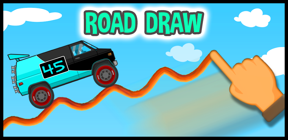 Road Draw: Climb Your Own Hills APK v.