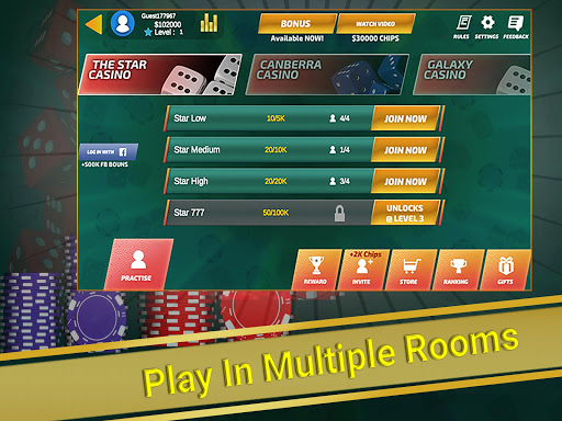 Sic Bo (Tai Xiu) - Multiplayer Casino  screenshots 14