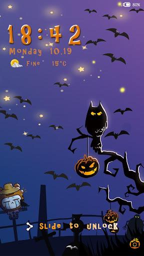 Halloween-iDO Lock screen