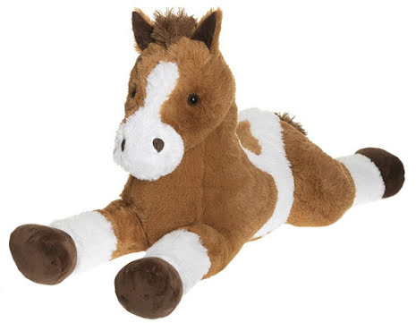Liggande Häst, Ljusbrun, 100 cm