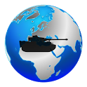 World Military Map icon