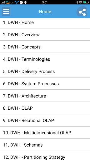 Learn Dwh Full 1.0 screenshots 1