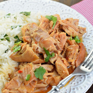 Slow Cooker Sweet Chili Chicken.