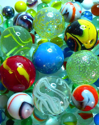 Lively marbles di Rosa