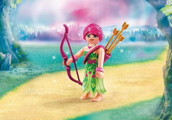 Contenido real de Playmobil® 9339 Elfa de los Bosques