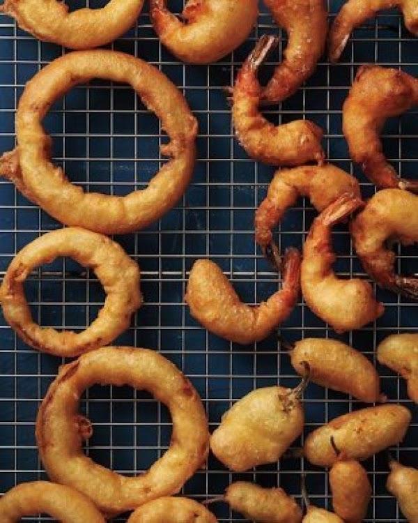 Beer Batter Onion Rings Recipe