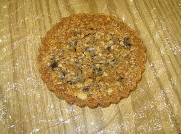 Oatmeal Chocolate Chip Cookie Tart