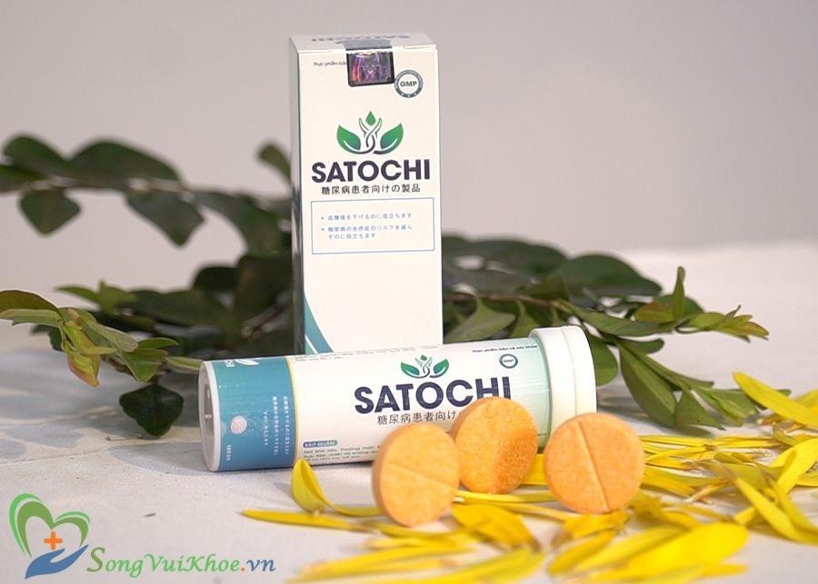 Điều trị tiểu đường đơn giản hơn với Satochi