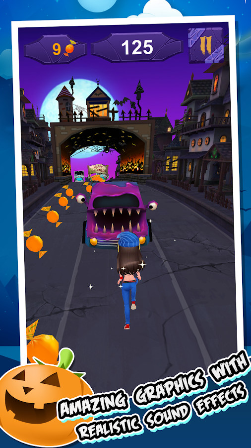 Run Halloween: Jump & Dash- screenshot
