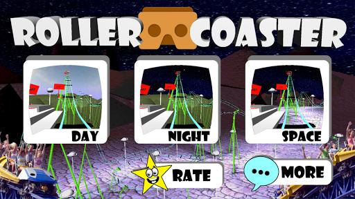 VR Roller Coaster Simulator 3D