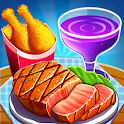 Crazy Cafe Shop Star Restaurant Cooking Games 2019 icon