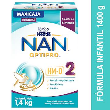 Formula Infantil NAN 2   Optipro HMO X1400g
