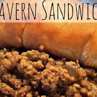 Tavern Sandwich {a.K.a. Loose Meat Sandwich} Recipe