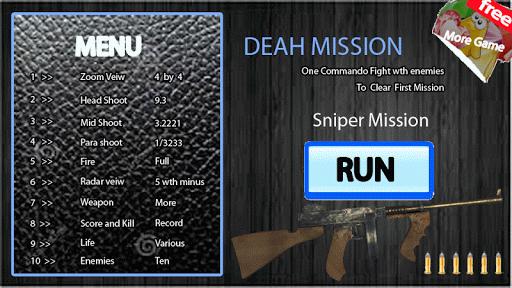 Death Clash Sniper Commando 3d