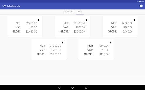 VAT Calculator Lite - náhled