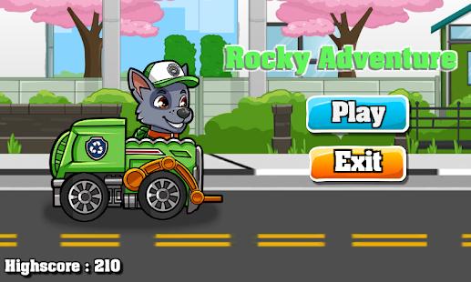 Paw Puppy Rocky Recycle Patrol - náhled