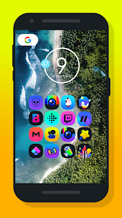 Light X - Icon Pack Aplicaciones para Android screenshot