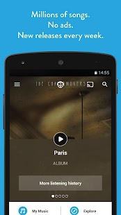 Napster Music- screenshot thumbnail