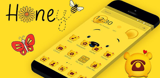 Cuteness Yellow Pooh Bear Theme - Apps on Google Play