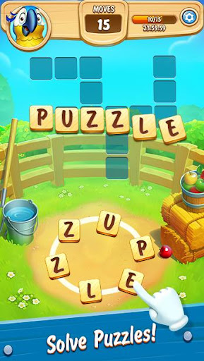 Word Farm Scapes: New Free Word & Puzzle Game apkdebit screenshots 13