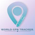 world gps online icon