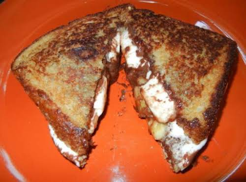 """Grilled Banana Smoreswich """"YUMMO!!! Forget the kids; I want one!"""" - MonisiaH"""