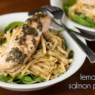 Salmon Pesto Pasta Healthy Recipes