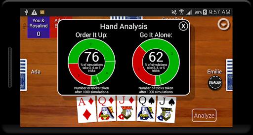Euchre Card Classic 1.1 screenshots 4
