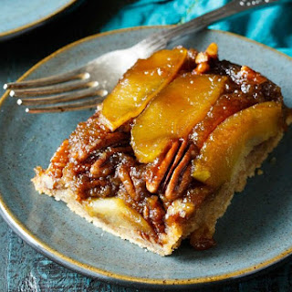 Gooey Apple Caramel Cake