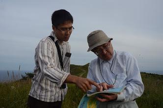 Photo: Nobuhiko Wakamatsu and Susumu Okitsu