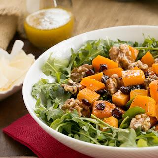 Arugula Salad with Roasted Butternut Squash