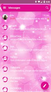 Sparkling2 SMS Zprávy - náhled