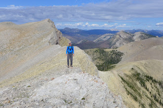 Photo: That is the summit of Crown behind me.