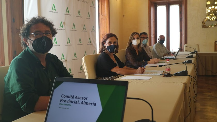 Reunión del Comité provincial del Plan Infoca.