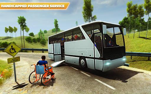 Offroad Bus Hill Driving Sim: Mountain Bus Racing 1.2 screenshots 2