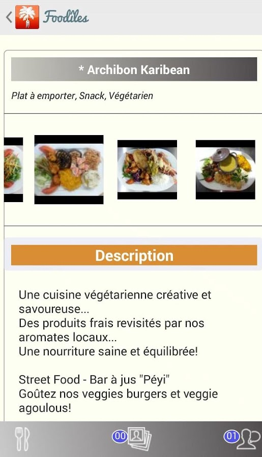 FOODILES- screenshot