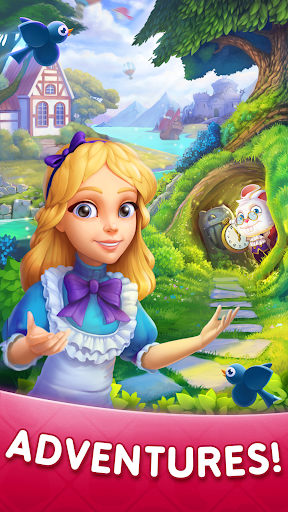 WonderMatchu2122uff0dMatch-3 Puzzle Alice's Adventure 2020 2.2 screenshots 2