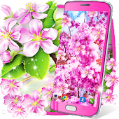 Sakura flowers live wallpaper