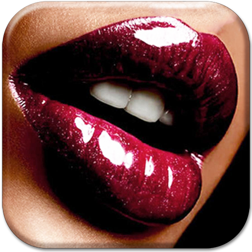Kissing Lips Live Wallpaper Icon