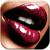 Kissing Lips Live Wallpaper