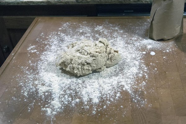 Place the dough on a lightly floured work surface.