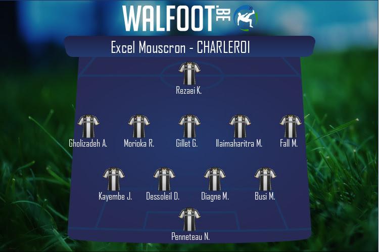 Charleroi (Excel Mouscron - Charleroi)